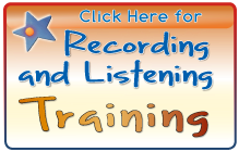 Click here for Recording and Listening Training